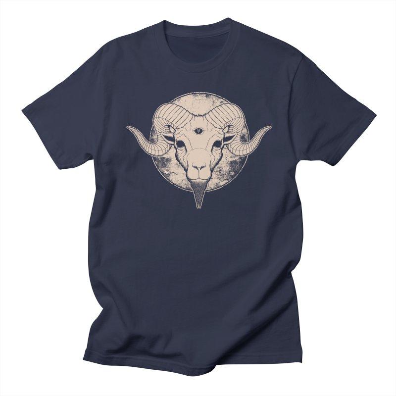 Three Eyed Goat Women's Unisex T-Shirt by The Evil Goods Shop