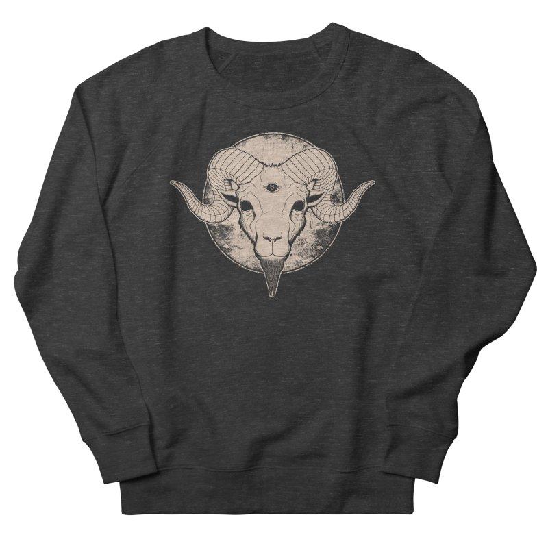 Three Eyed Goat Men's Sweatshirt by The Evil Goods Shop