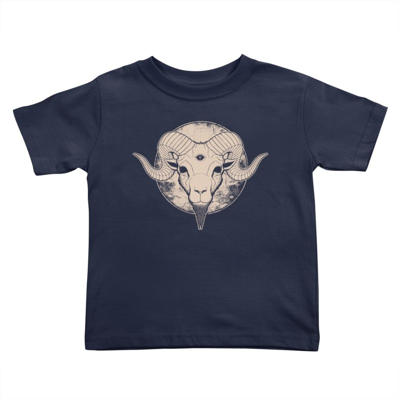 Three Eyed Goat Kids Toddler T-Shirt by The Evil Goods Shop