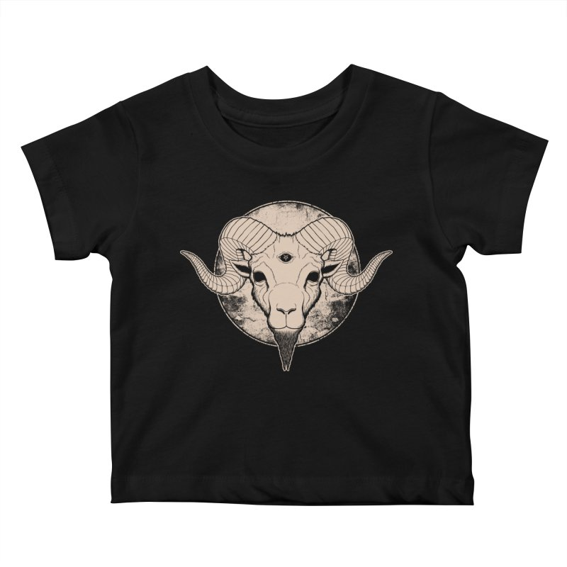 Three Eyed Goat Kids Baby T-Shirt by The Evil Goods Shop