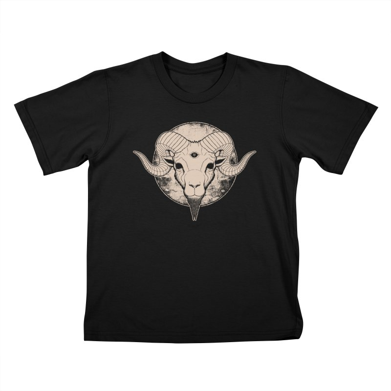 Three Eyed Goat Kids T-Shirt by The Evil Goods Shop