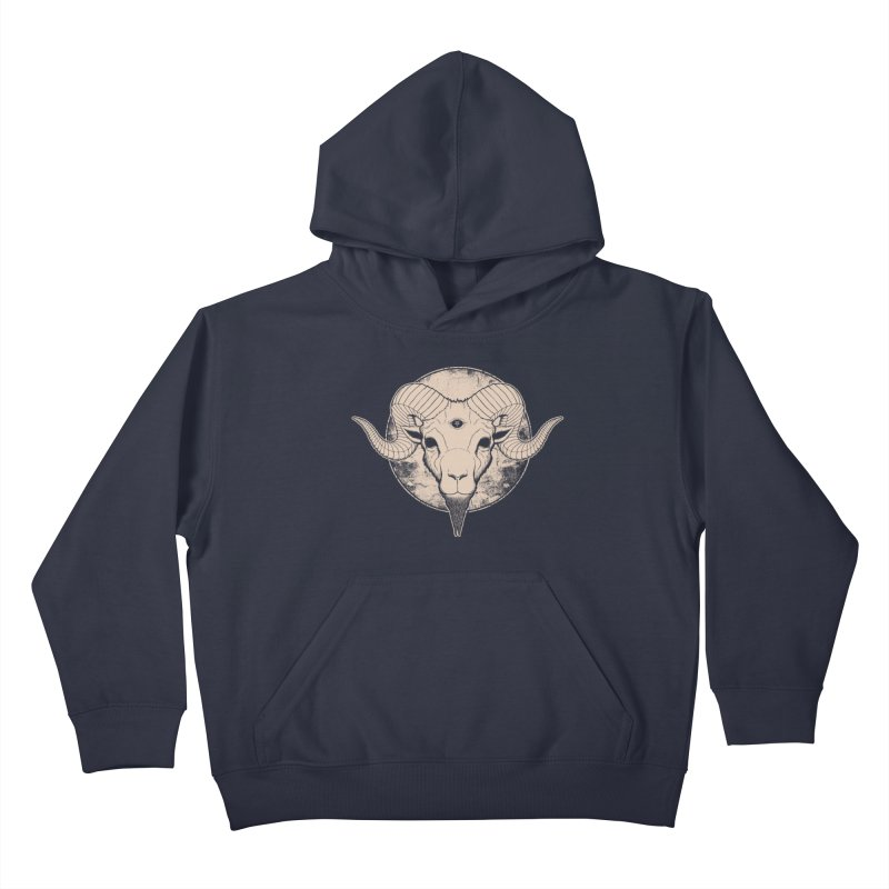 Three Eyed Goat Kids Pullover Hoody by The Evil Goods Shop