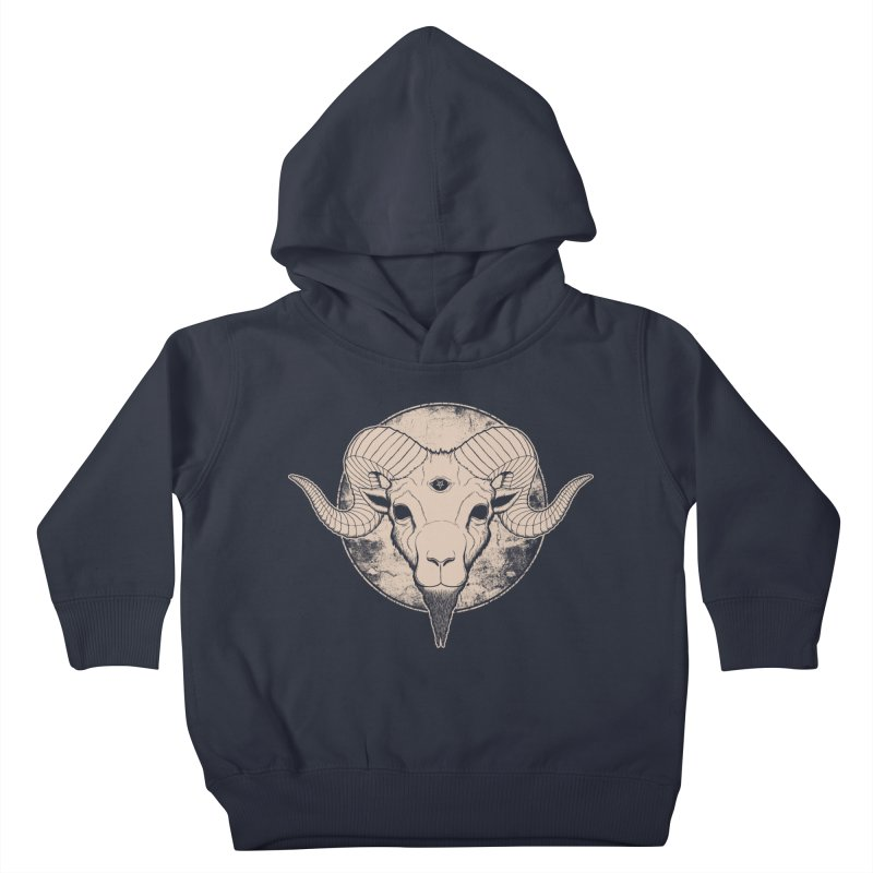 Three Eyed Goat Kids Toddler Pullover Hoody by The Evil Goods Shop