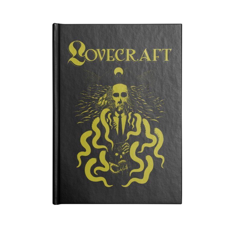 Fear of the Unknown  Accessories Notebook by The Evil Goods Shop