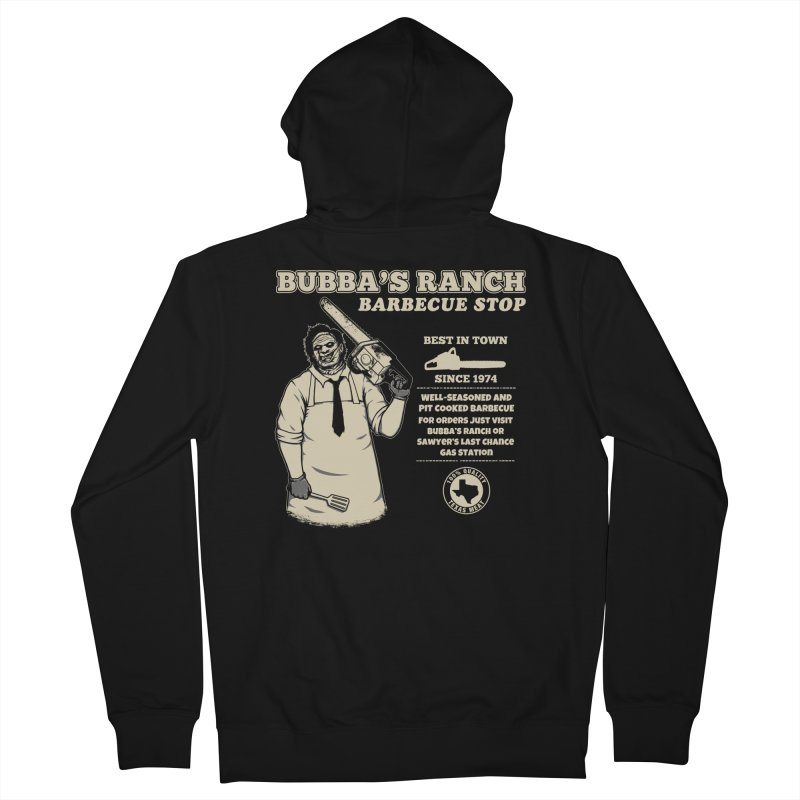 Bubba's Ranch BBQ Stop Women's Zip-Up Hoody by The Evil Goods Shop