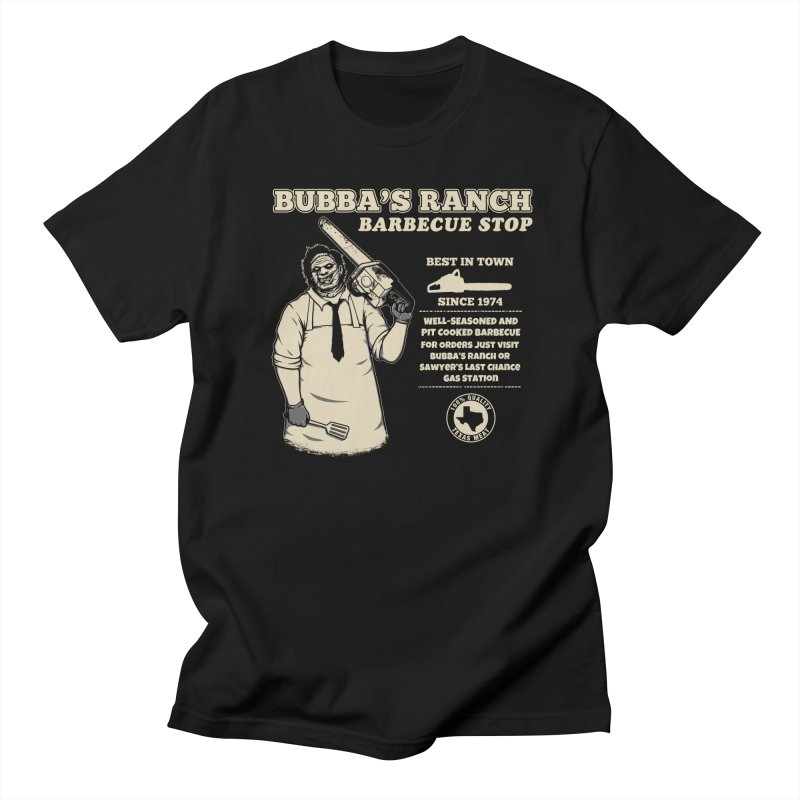 Bubba's Ranch BBQ Stop Men's T-Shirt by The Evil Goods Shop