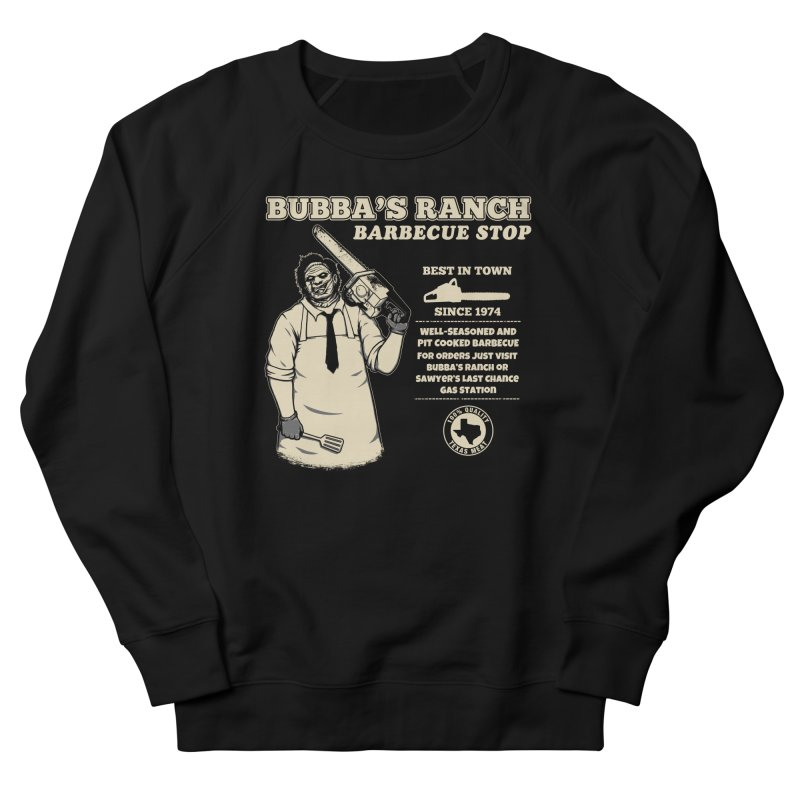Bubba's Ranch BBQ Stop Men's Sweatshirt by The Evil Goods Shop