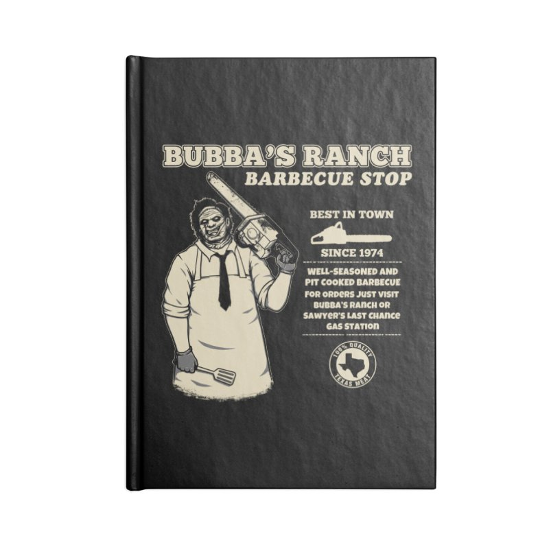 Bubba's Ranch BBQ Stop Accessories Notebook by The Evil Goods Shop