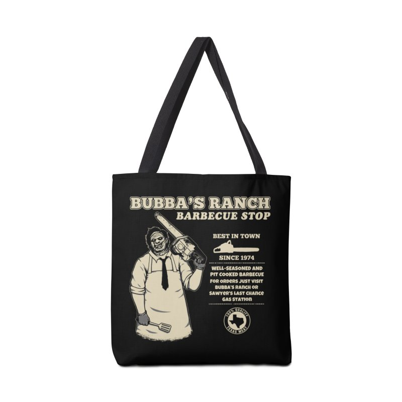 Bubba's Ranch BBQ Stop Accessories Bag by The Evil Goods Shop