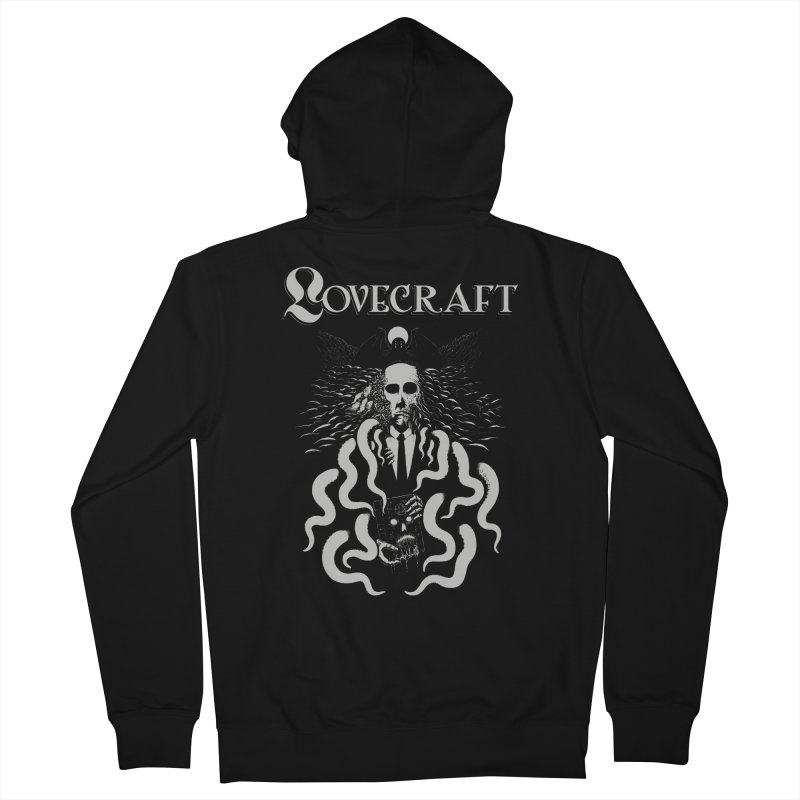 Fear the Unknown Men's Zip-Up Hoody by The Evil Goods Shop