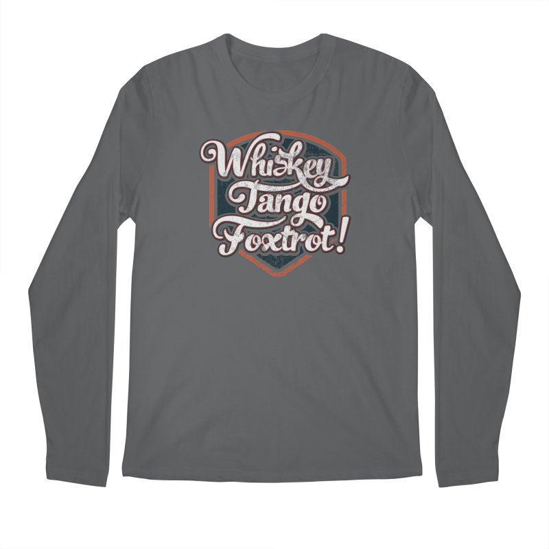 Whiskey Tango Foxtrot: Code Grey Men's Longsleeve T-Shirt by The Factorie's Artist Shop