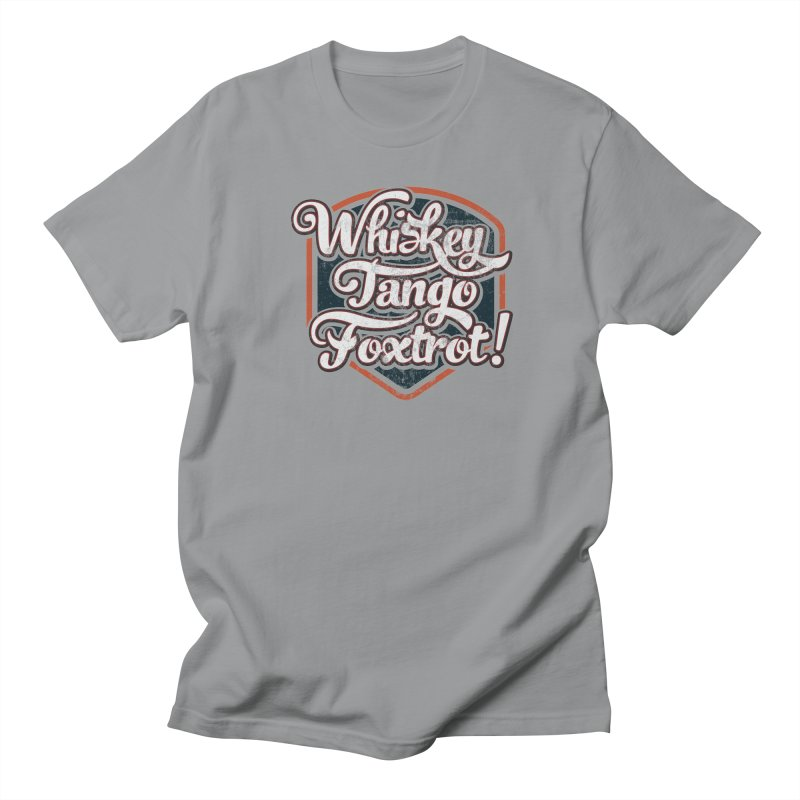 Whiskey Tango Foxtrot: Code Grey Men's Regular T-Shirt by The Factorie's Artist Shop