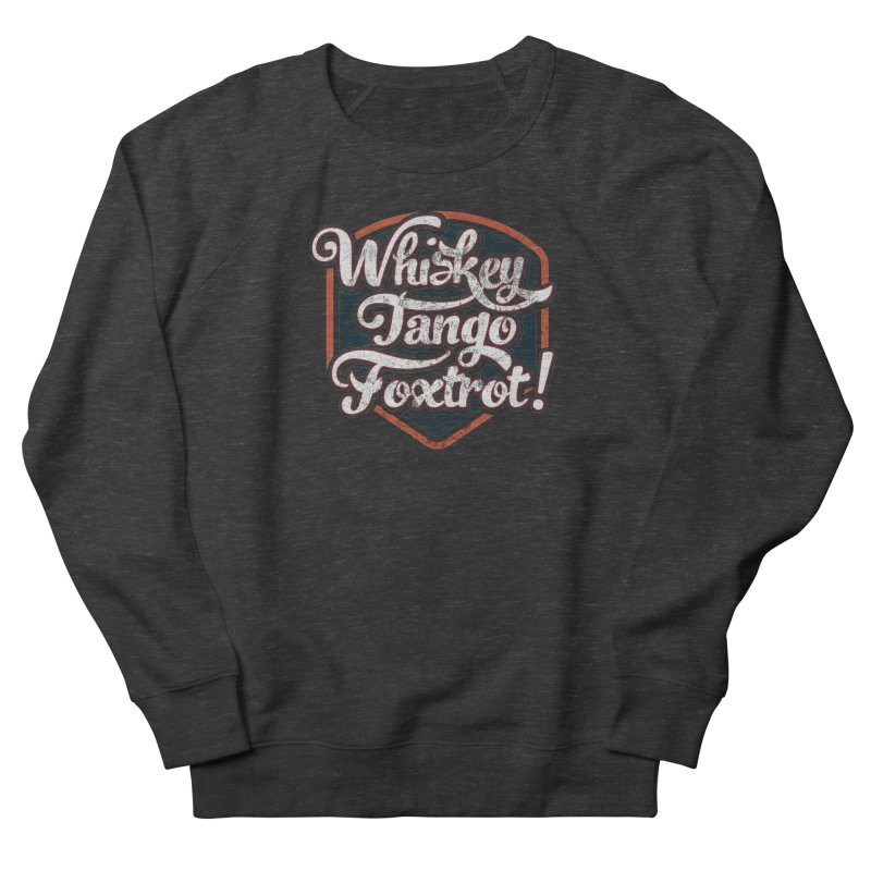 Whiskey Tango Foxtrot: Code Grey Men's Sweatshirt by The Factorie's Artist Shop