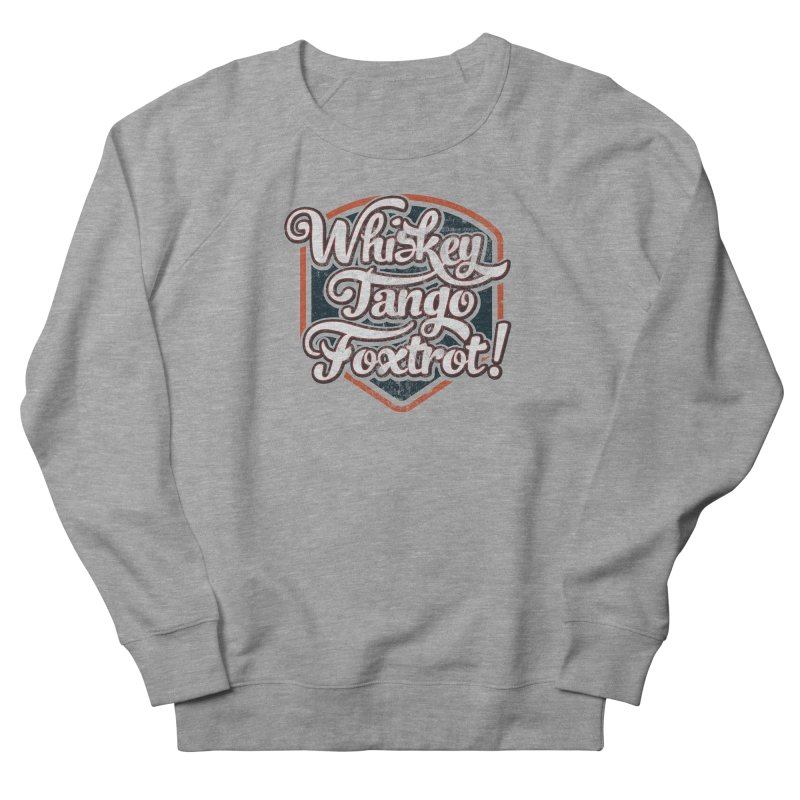 WTF Grey Men's Sweatshirt by The Factorie's Artist Shop