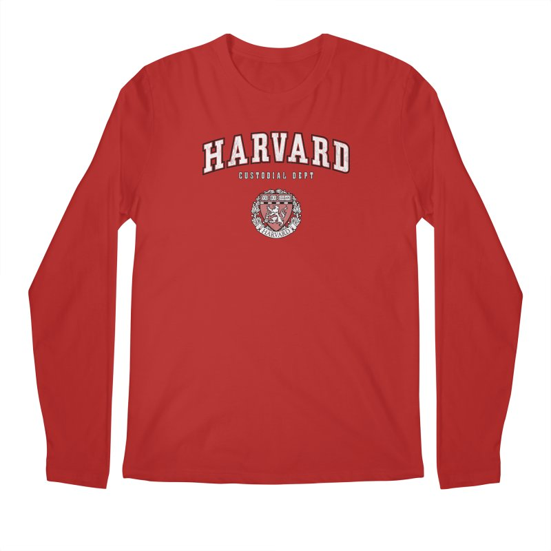 Harvard Custodial Dept Men's Longsleeve T-Shirt by The Factorie's Artist Shop