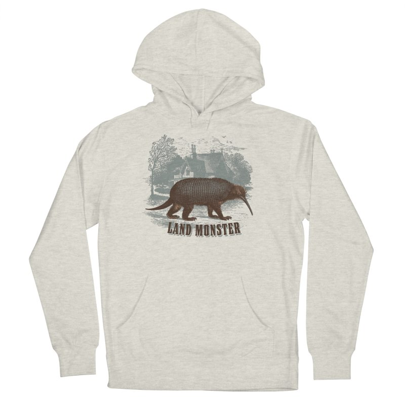 Fauna Incognita Series 1: Landmonster Men's French Terry Pullover Hoody by The Factorie's Artist Shop