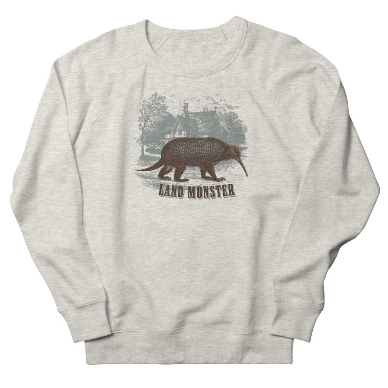 Landmonster Men's Sweatshirt by The Factorie's Artist Shop