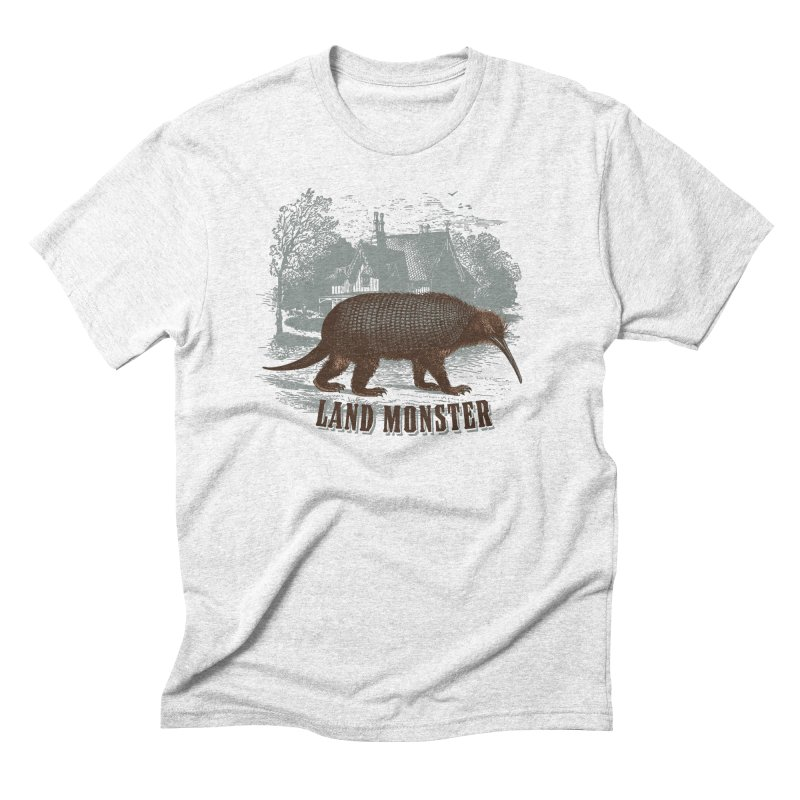 Landmonster Men's Triblend T-shirt by The Factorie's Artist Shop