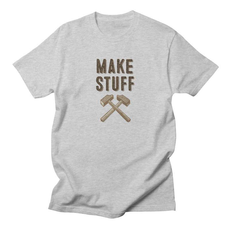 Maker's Credo: Tan Men's T-Shirt by The Factorie's Artist Shop