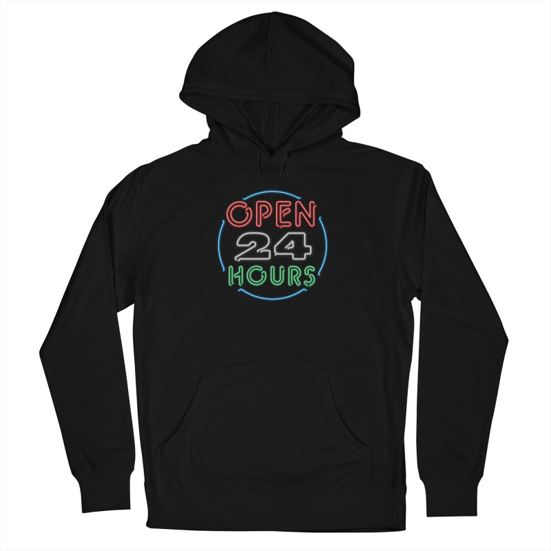 Up All Night Men's French Terry Pullover Hoody by The Factorie's Artist Shop