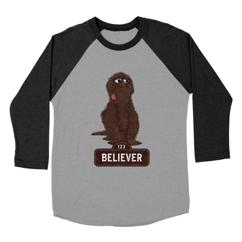Old Skool Men's Baseball Triblend T-Shirt by The Factorie's Artist Shop