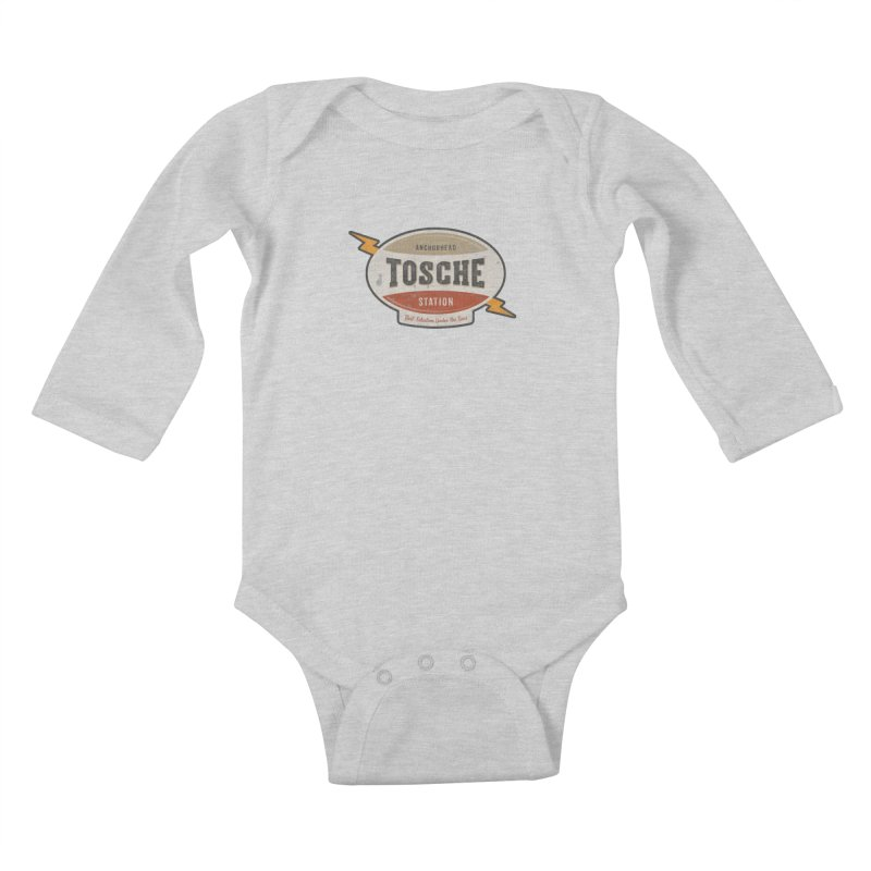 Tosche Station Kids Baby Longsleeve Bodysuit by The Factorie's Artist Shop