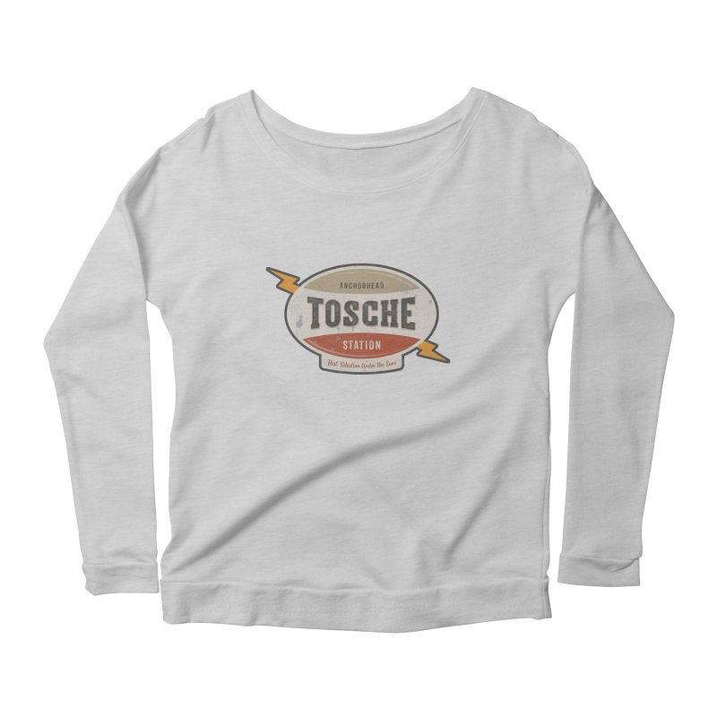 Power Converters! Women's Scoop Neck Longsleeve T-Shirt by The Factorie's Artist Shop