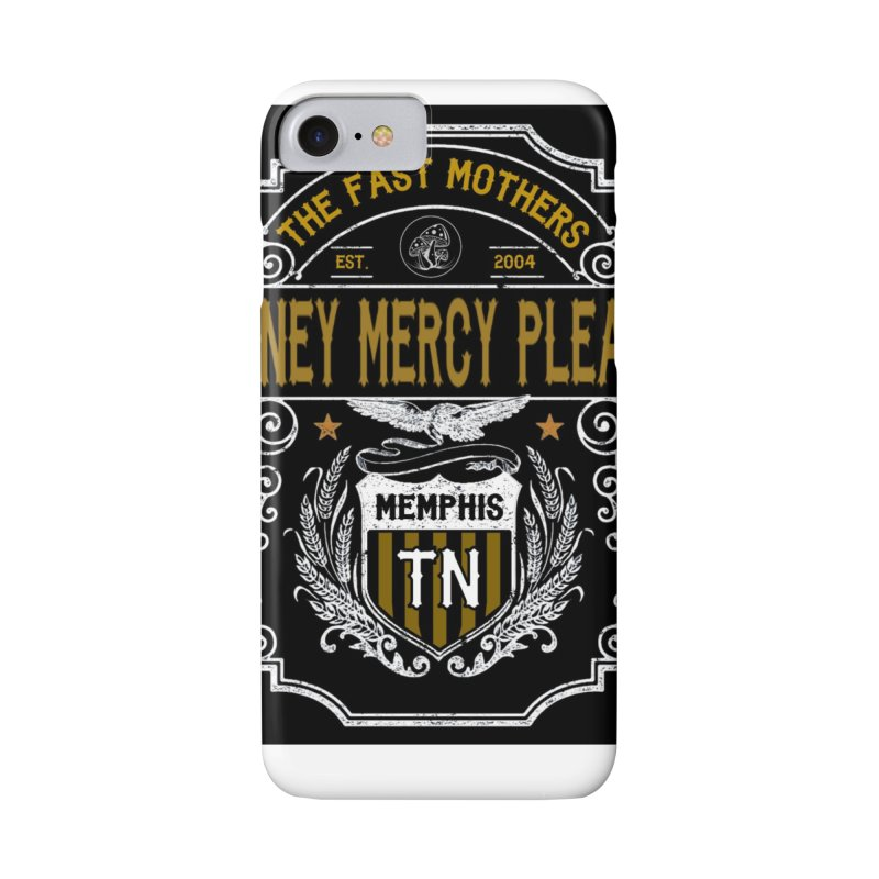 Honey Mercy Please Banner Accessories Phone Case by The Fast Mothers