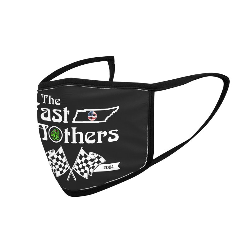 Est. 2004 for Dark Colors Accessories Face Mask by The Fast Mothers