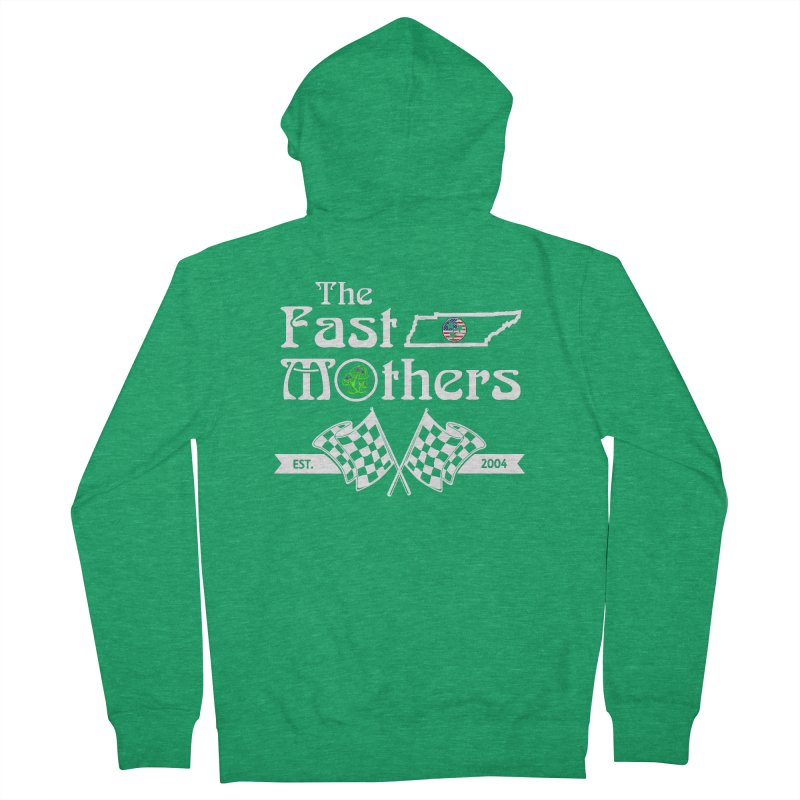 Est. 2004 for Dark Colors Women's Zip-Up Hoody by The Fast Mothers