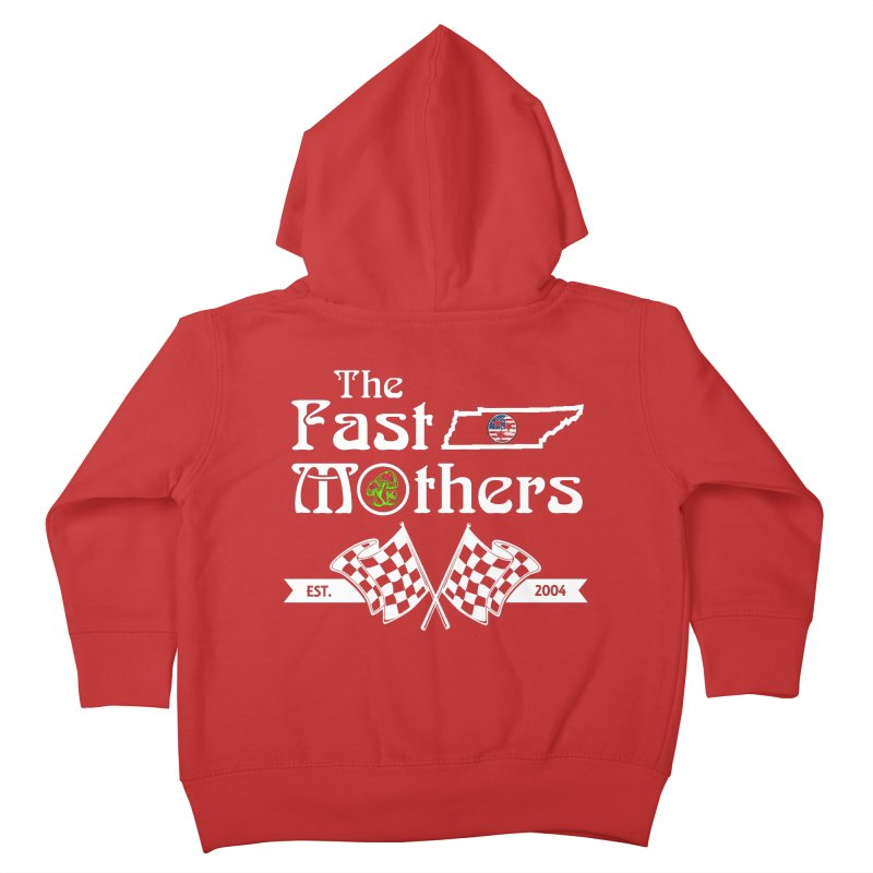 Est. 2004 for Dark Colors Kids Toddler Zip-Up Hoody by The Fast Mothers
