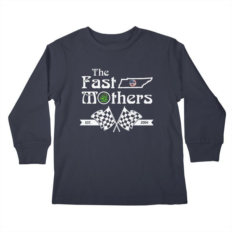 Est. 2004 for Dark Colors Kids Longsleeve T-Shirt by The Fast Mothers