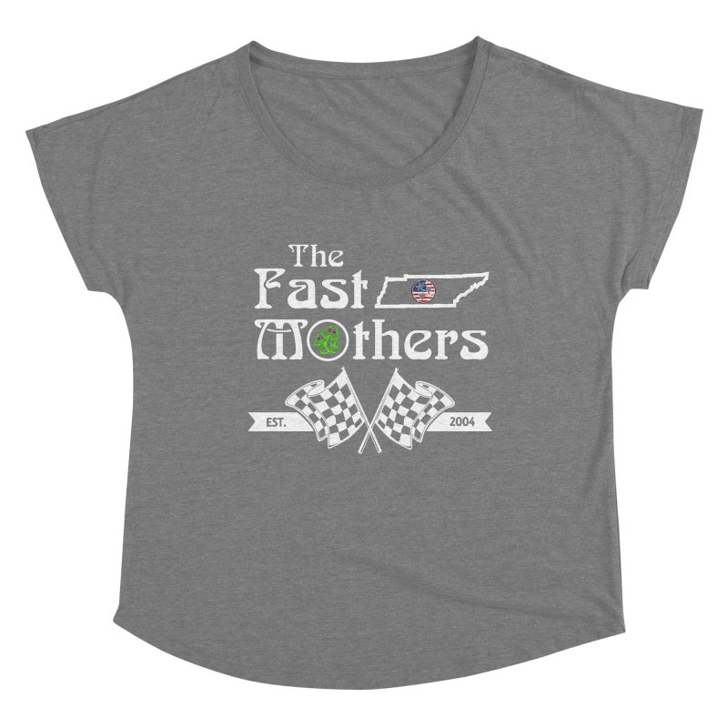 Est. 2004 for Dark Colors Women's Scoop Neck by The Fast Mothers