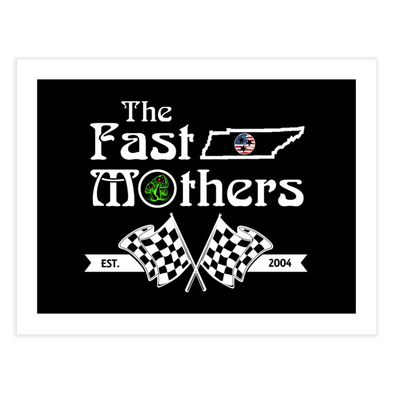 Est. 2004 for Dark Colors Home Fine Art Print by The Fast Mothers
