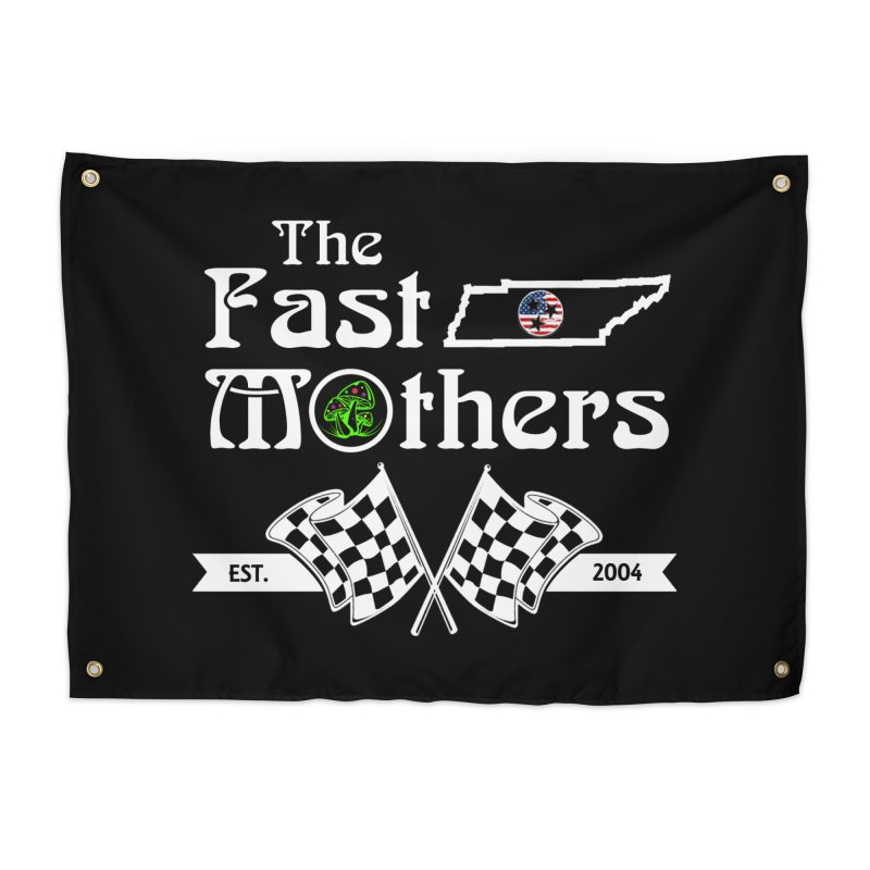 Est. 2004 for Dark Colors Home Tapestry by The Fast Mothers