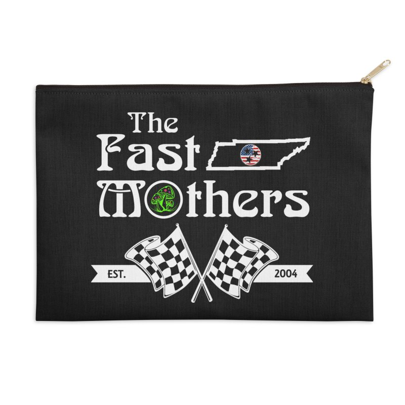 Est. 2004 for Dark Colors Accessories Zip Pouch by The Fast Mothers