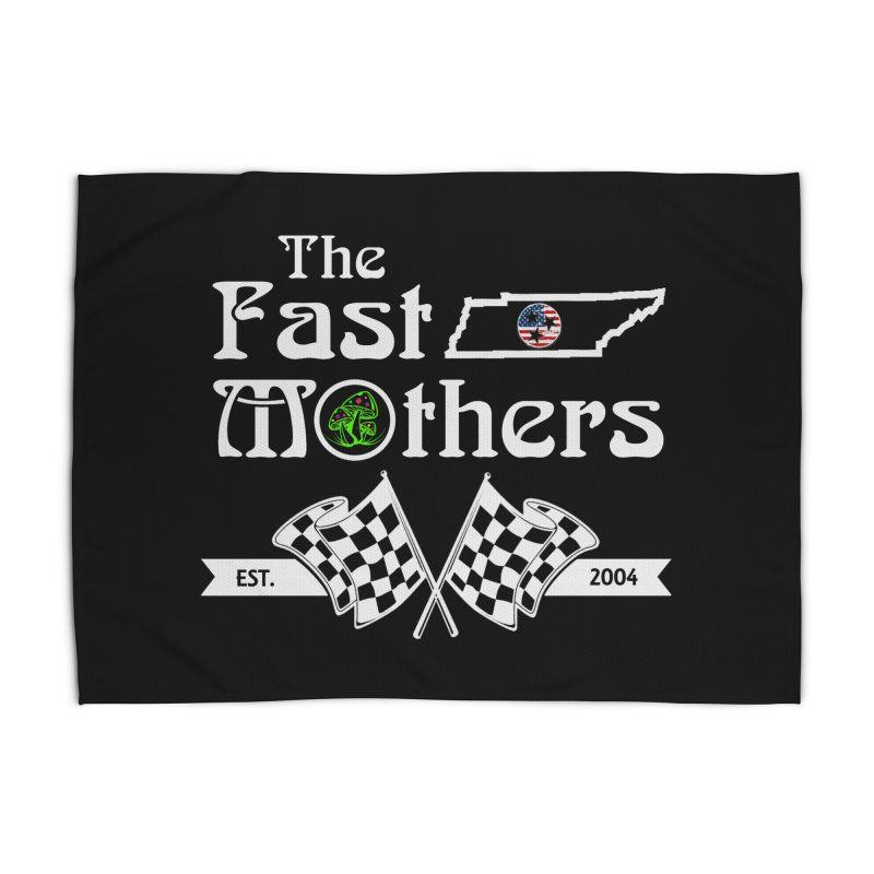 Est. 2004 for Dark Colors Home Rug by The Fast Mothers