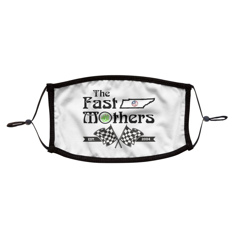 Est. 2004 for Light colors Accessories Face Mask by The Fast Mothers