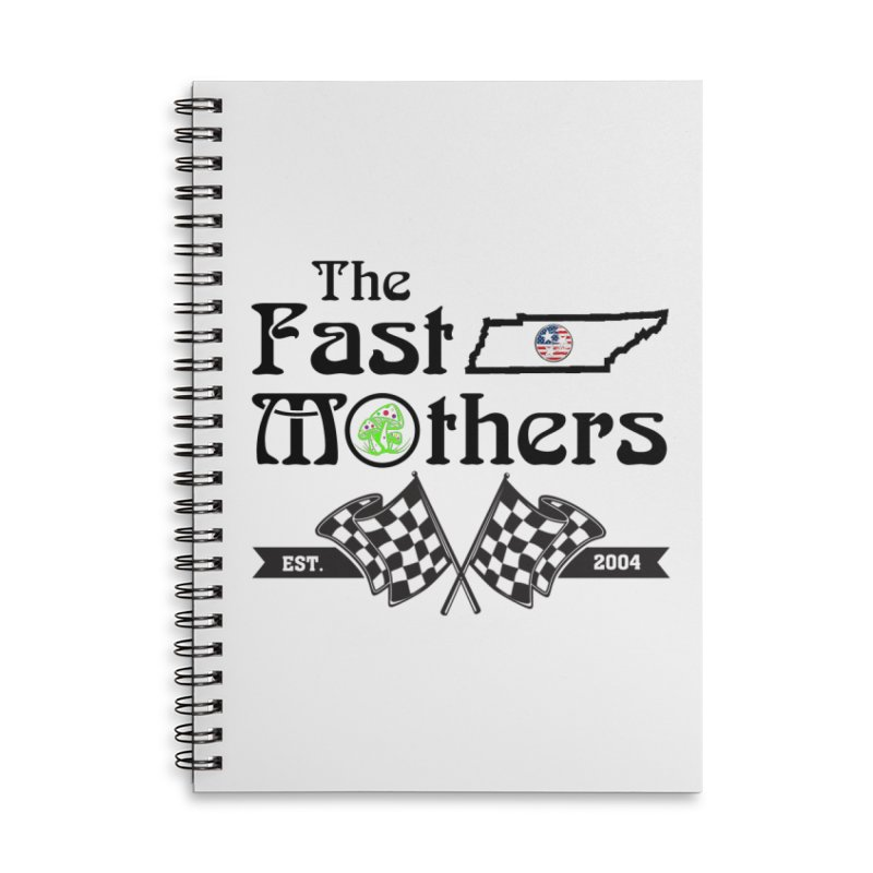 Est. 2004 for Light colors Accessories Notebook by The Fast Mothers