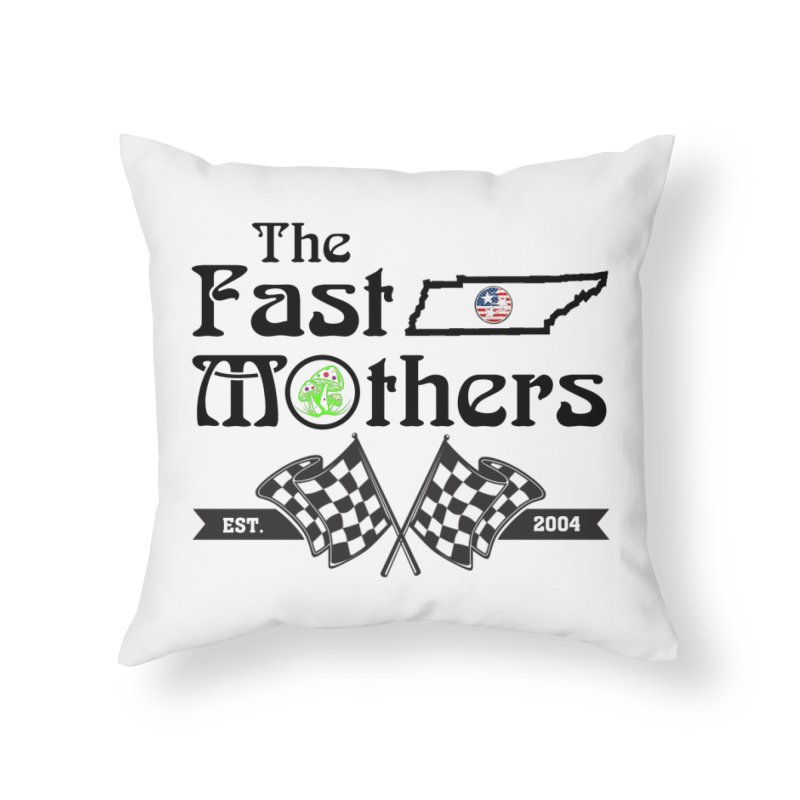 Est. 2004 for Light colors Home Throw Pillow by The Fast Mothers