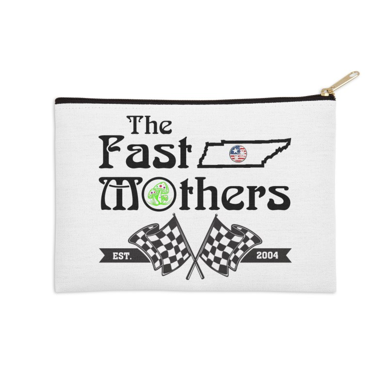 Est. 2004 for Light colors Accessories Zip Pouch by The Fast Mothers