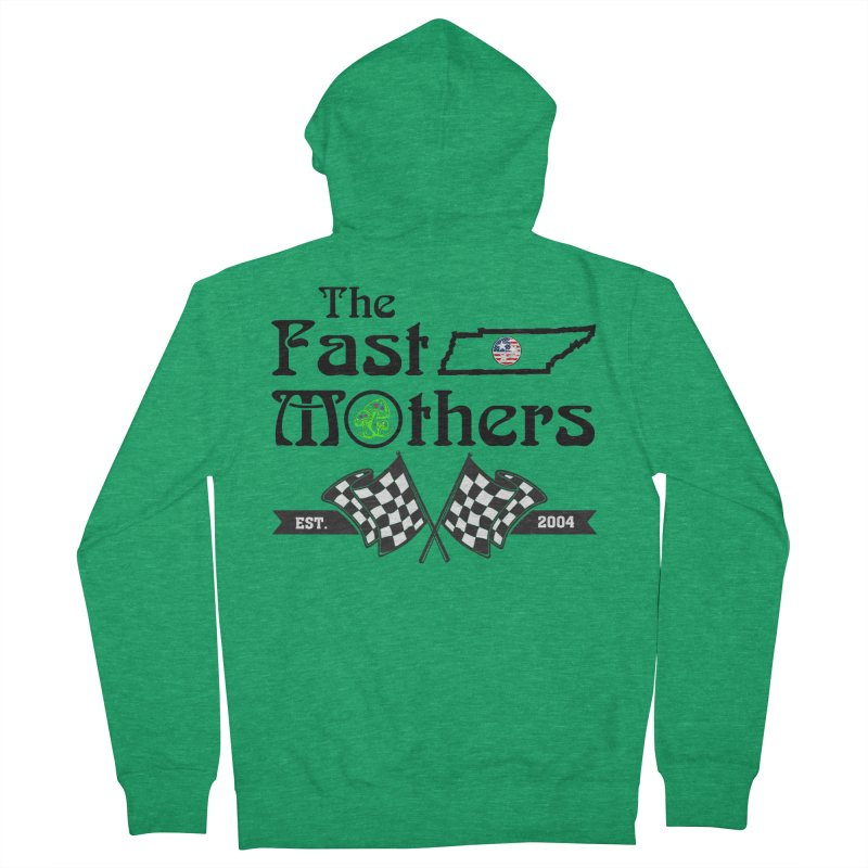 Est. 2004 for Light colors Men's Zip-Up Hoody by The Fast Mothers