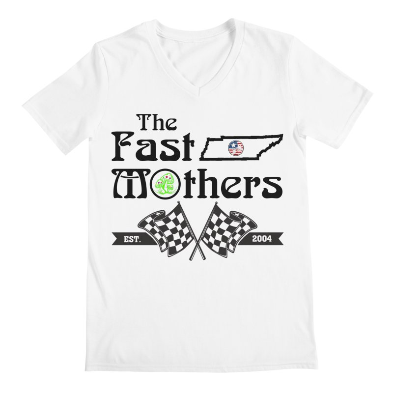 Est. 2004 for Light colors Men's V-Neck by The Fast Mothers