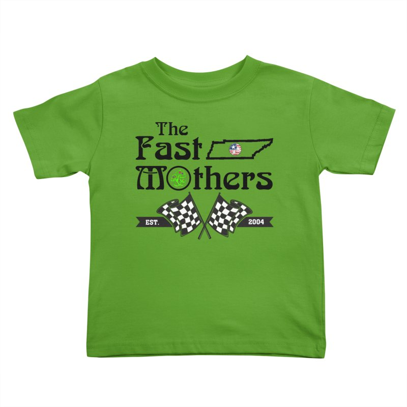 Est. 2004 for Light colors Kids Toddler T-Shirt by The Fast Mothers