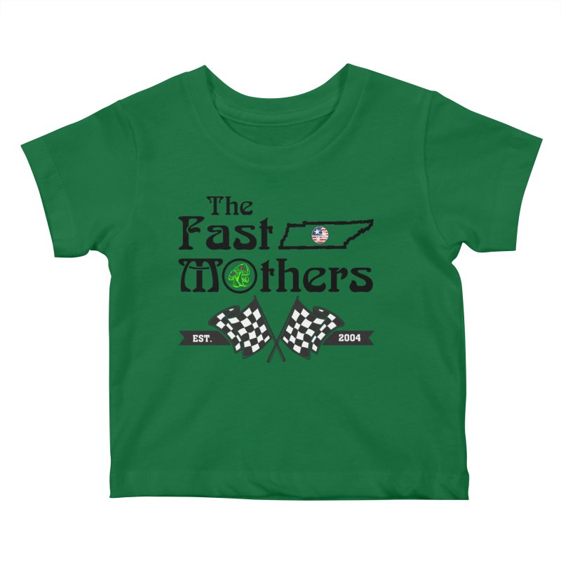 Est. 2004 for Light colors Kids Baby T-Shirt by The Fast Mothers