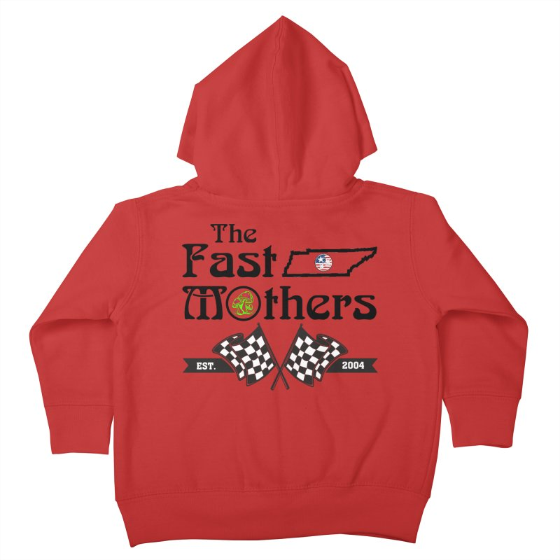 Est. 2004 for Light colors Kids Toddler Zip-Up Hoody by The Fast Mothers