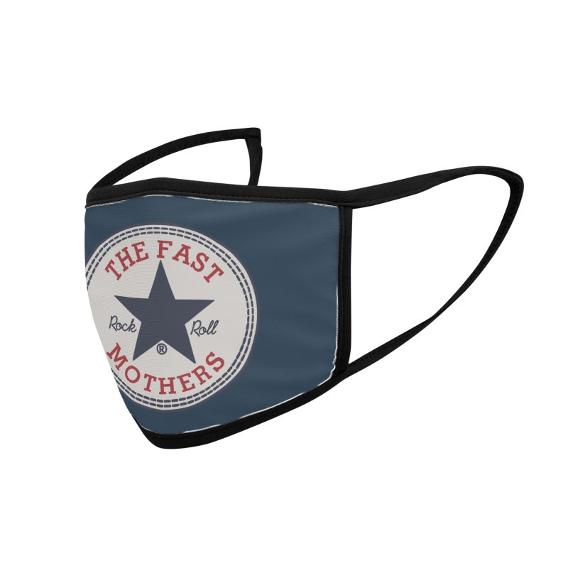 Sneaker Logo Accessories Face Mask by The Fast Mothers