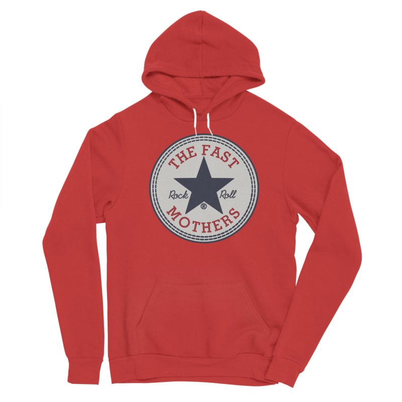 Sneaker Logo Men's Pullover Hoody by The Fast Mothers