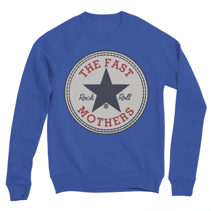 Sneaker Logo Men's Sweatshirt by The Fast Mothers