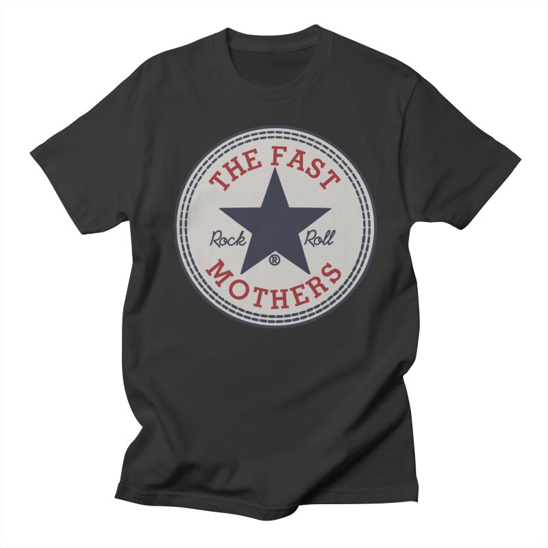 Sneaker Logo Men's T-Shirt by The Fast Mothers